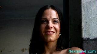 bdsm model alex zothberg interview before whipped in old factory