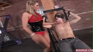 Brianna likes to tie up guys with big dicks n fuck