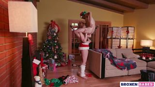 Lauren Phillips as Mrs. Claus Fucks A Naughty Elf On Christmas Night