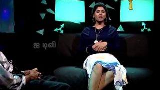 VID-20140211-PV0004-Chennai (IT) Tamil 25 yrs old unmarried beautiful and hot TV anchor Ms. Girija Sree (FM size # 38B-30-34) speaking sexily with sexologist to Padma Sree in Captian TV 'Andharangam' show sex video-4
