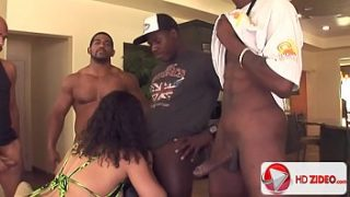 Big ass gangbang with Chyanne Jacobs HD Porn;