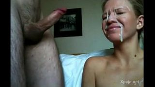 Compilation of cum on face