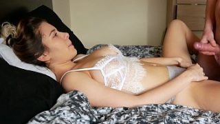 Daughter gets caught making a video by her DAD! kinkycouple111