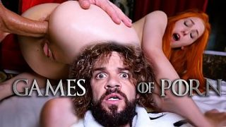 Game Of Porn Episode 4 from Jean-Marie Corda: Redhead beauty, hardcore anal fucking, ass fingering and juicy blowjobs with Tyrion Fuckister