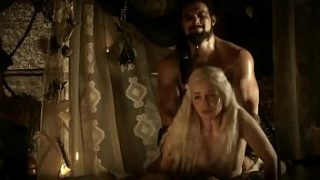 Game Of Thrones | Emilia Clarke Fucked from Behind (no music)