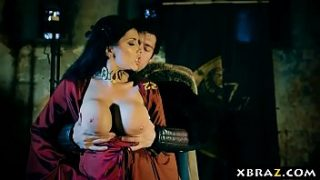 Game of Thrones xxx parody dungeon fuck with the red witch