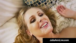 hot step m. julia ann gets nude and naughty with step s.