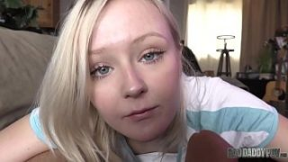 petite blonde teen gets fucked by her f. featuring natalia queen