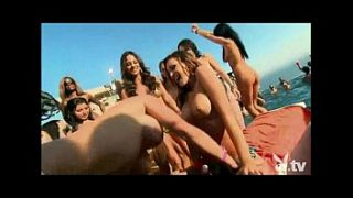pool party with 200 nude chicks