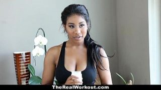 TheRealWorkout – Busty Babe (Jenna Foxx) Bounces On Cock During Workout