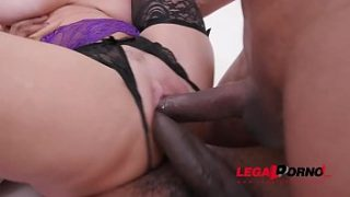 Veronica Avluv & Kristy Black lick and fist each others ass in hardcore orgy with DP, DAP & DVP SZ2124